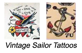 Vintage Sailor Tattoos